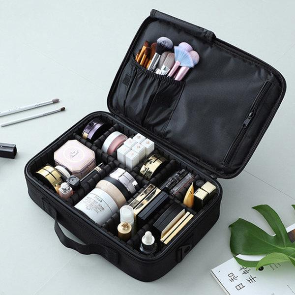 N24 블랙중 여행용 메이크업 화장품 파우치 정리함 상품이미지