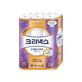 수프림소프트 화장지27M30롤x1팩/휴지/화장지