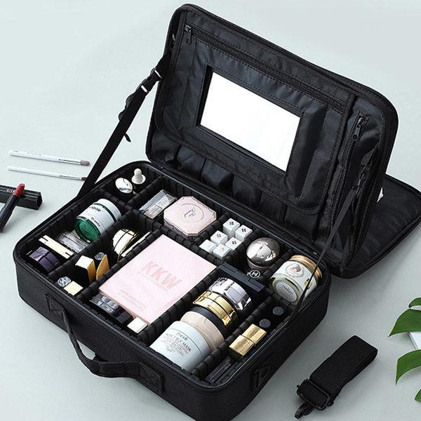 N24 블랙대 여행용 메이크업 화장품 파우치 정리함 상품이미지