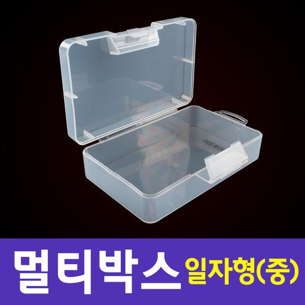 다용도 멀티박스 일자형(중) 정리함 플라스틱 상자 상품이미지