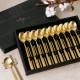 티타늄 골드 매트 험머 수저세트 10벌 상품이미지