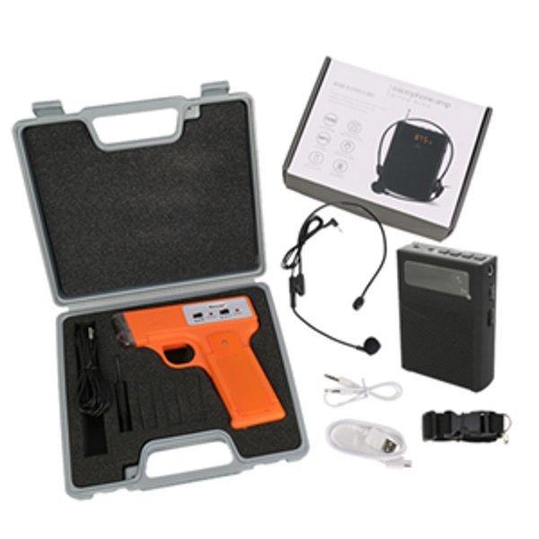 낫소 전자신호총 휴대용 유선마이크 앰프세트(NXO-W22 상품이미지