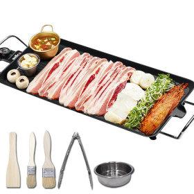전기그릴 와이드 고기 불판 특대형 프라이팬 VGW-7500