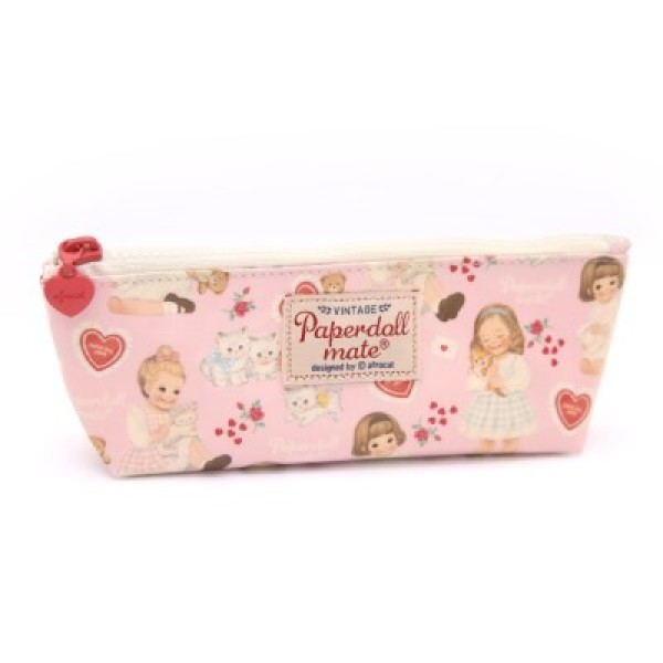 Oil-cloth pouch P heart pink 상품이미지