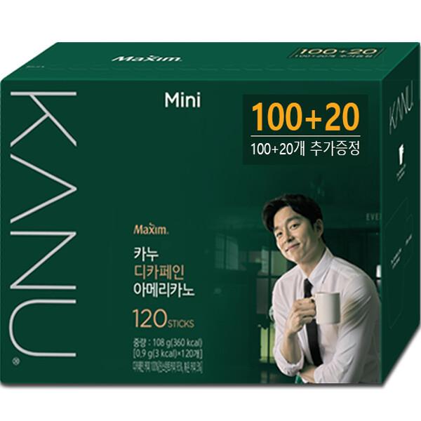 카누 미니 디카페인 100T+20T 총120T/원두커피/커피 상품이미지