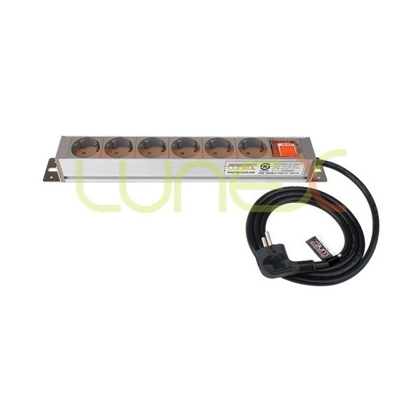루넥스 알루미늄 10구 SW멀티탭 8M 산업용 멀티탭 상품이미지