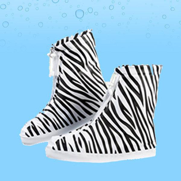 지브라 신발 방수 커버 지브라 M 레인 슈즈 장화 상품이미지
