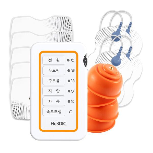 (현대Hmall) 휴비딕  개인용 저주파 자극기 HMB-1100 (본품+흡착패드+대형패드5) 상품이미지