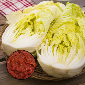 국내산 김장 세트 절임배추 4kg+양념 1.5kg