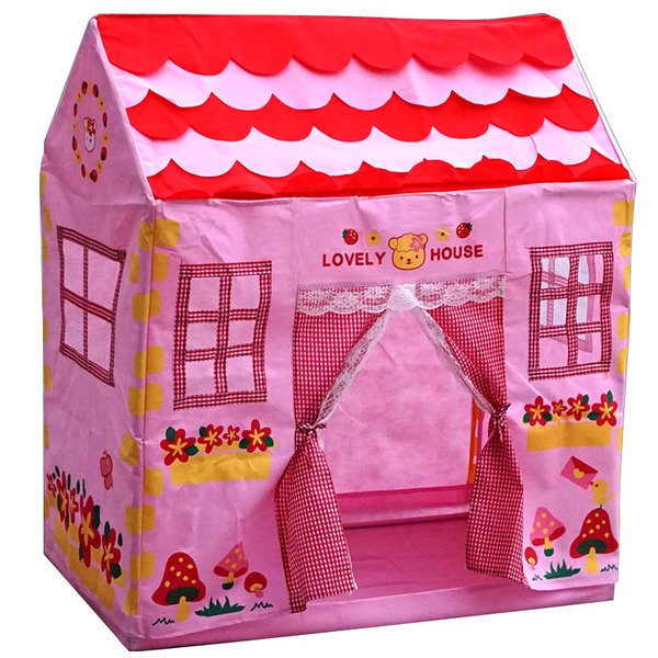 러블리 텐트 하우스/1213/놀이/볼/유아/집/장난감/ 상품이미지