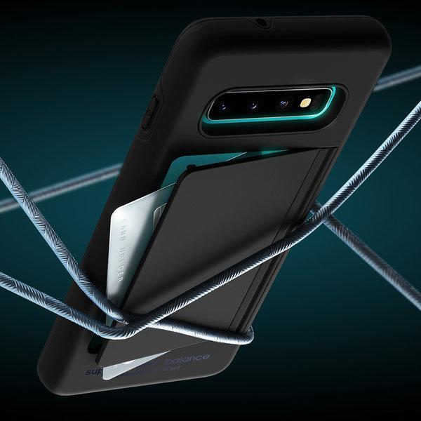 갤럭시 S10 5G 밸런스 카드 범퍼 하드 케이스 상품이미지