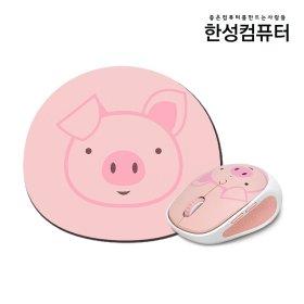 HM170 핑크큐리 무소음마우스