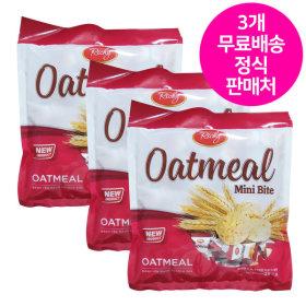 (무료배송) 오트밀 미니바이트 250g/크런치 시리얼 바
