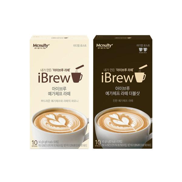 아이브루 예가체프 더블샷/라떼10T+10T 인스턴트 커피 상품이미지