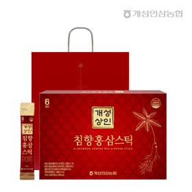 개성상인 침향홍삼스틱 10ml 30포 /쇼핑백 증정