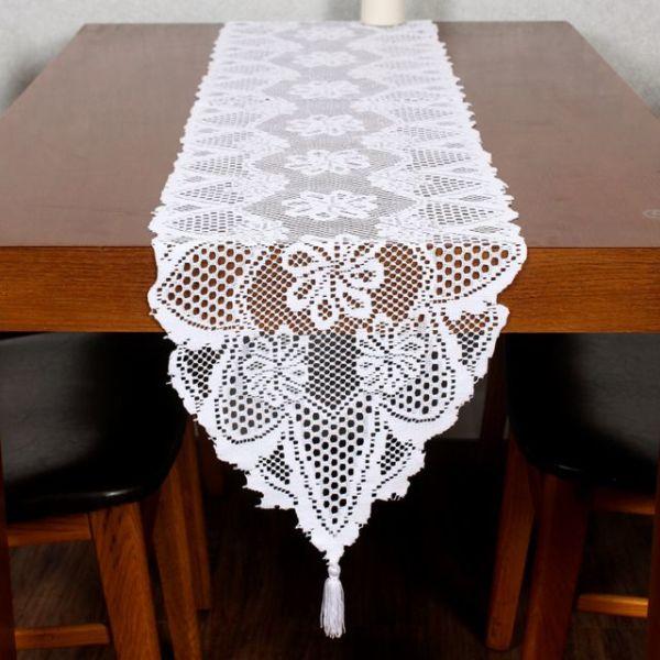프렌치 레이스 테이블 러너(33x183cm) (화이트) 상품이미지