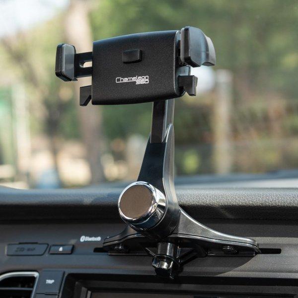 카멜레온360 원터치 CD슬롯형 차량용 핸드폰 휴대폰 거치대 상품이미지