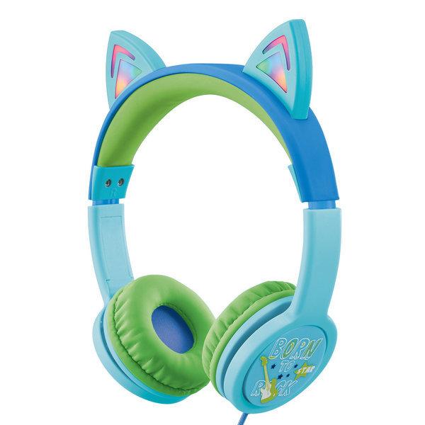 캣츠 어린이 청력보호 헤드폰 BKS-80 블루 상품이미지