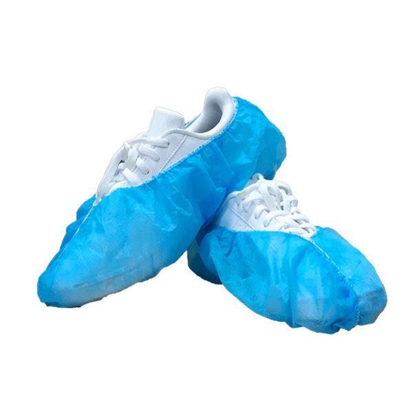 일회용 부직포 덧신 (파란색) 100매 (50켤레) 상품이미지