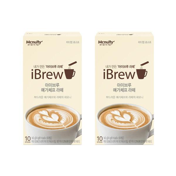 아이브루 예가체프 라떼 10T x2개 (20T) 인스턴트 커피 상품이미지