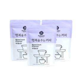 행복을주는 커피 분쇄원두 헤이즐넛향 100gx3개(300g)