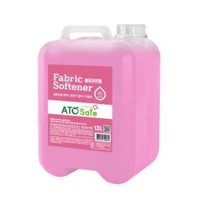 로하스인증 대용량 섬유유연제 핑크로즈 13L 1개