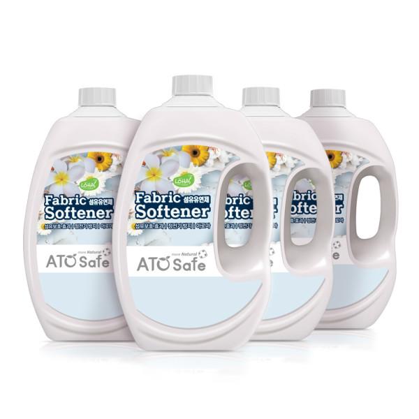 아토세이프 섬유유연제 (파우더향 2.5L 4개) 상품이미지