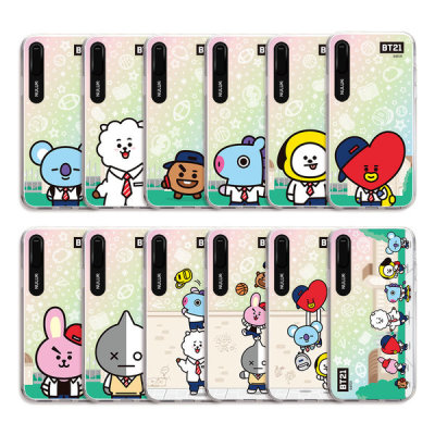BT21 iPhone Universtar School Graphic Light UP Character Case Collection (Hybrid)
