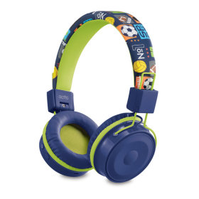접이식 어린이 청력보호 블루투스 헤드셋/BTH-03 블루