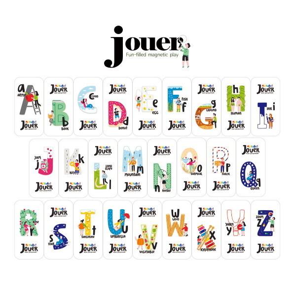꼬메모이 쥬에 알파벳 지우개 26pcs 1종랜덤 / 자석 교구 퍼즐 칠판 유아 놀이 상품이미지