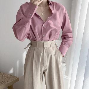 비이심플 인생핏 루즈 긴팔 셔츠