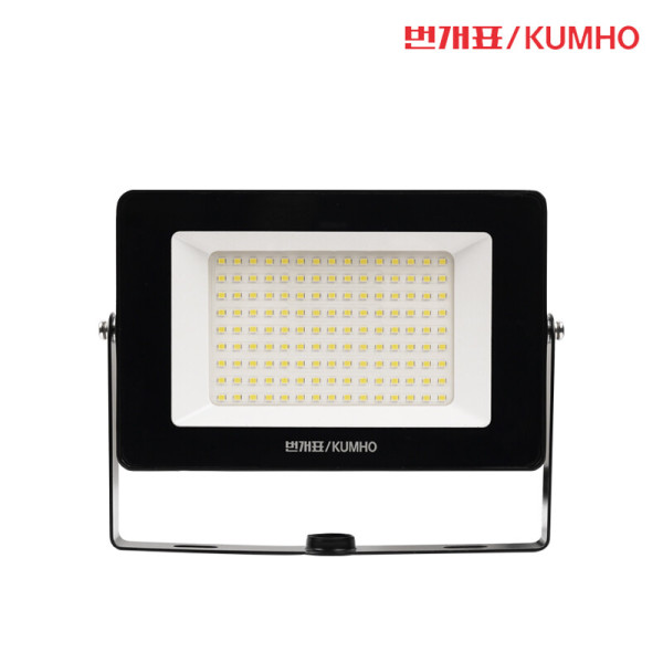 번개표 LED 사각 투광등 블랙 50W 주광색 투광기 KC 상품이미지