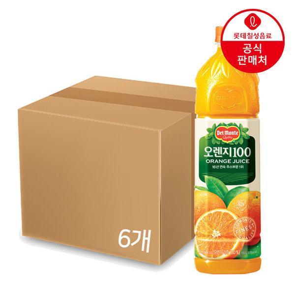 델몬트 오렌지 1.5펫 x 6입  /박스포장 상품이미지