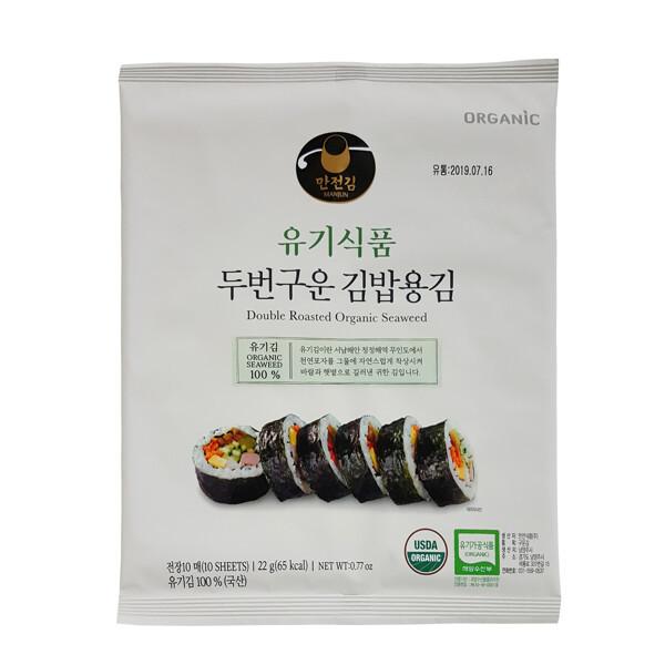 만전김  유기식품 두번 구운 김밥김 10매 25g 상품이미지