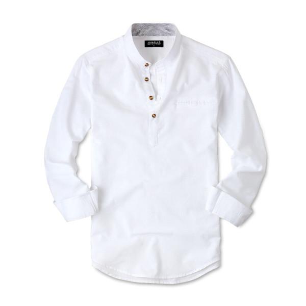 옥스포드 헨리넥 남성 남자 와이셔츠 셔츠 남방 JM014 상품이미지