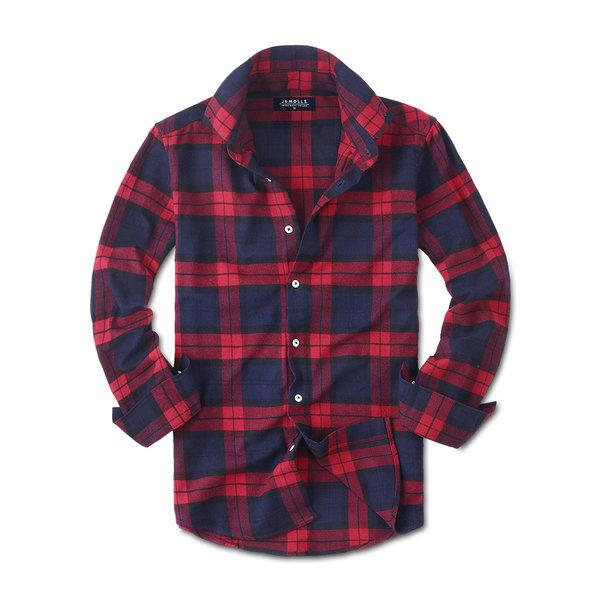 캐주얼 긴팔 체크 남성 남자 셔츠 남방 와이셔츠 028 상품이미지