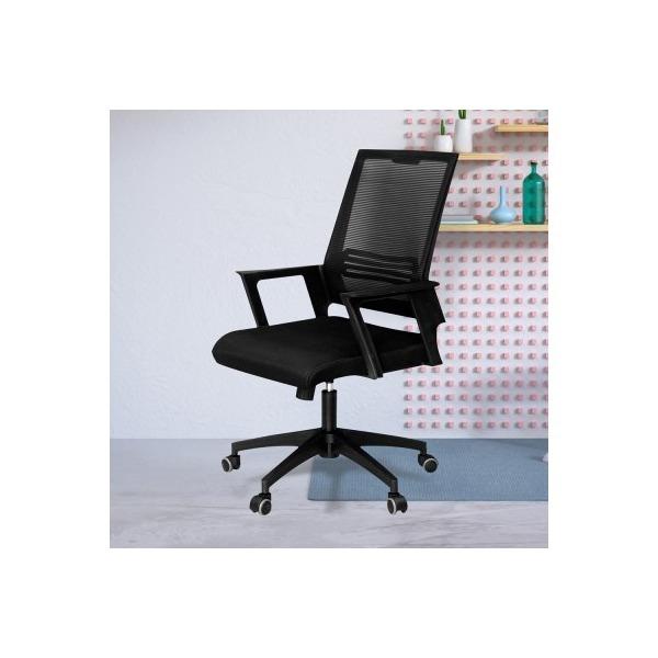 보니 블랙 메쉬 학생의자 책상의자 컴퓨터의자 상품이미지