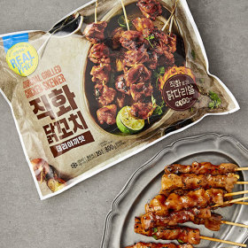 리얼)직화닭꼬치800g(데리야끼맛)