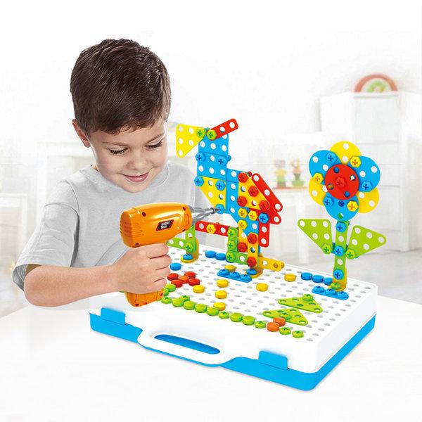 유아동 두뇌발달 드릴장난감 공구놀이세트 3D 상품이미지