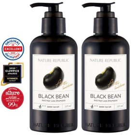 Black Bean Anti Hair Loss Shampoo X2