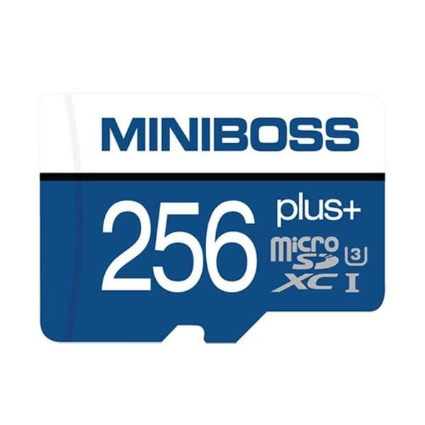 MINIBOSS micro SDXC CLASS10 UHS-I U3 PLUS (256GB) 상품이미지