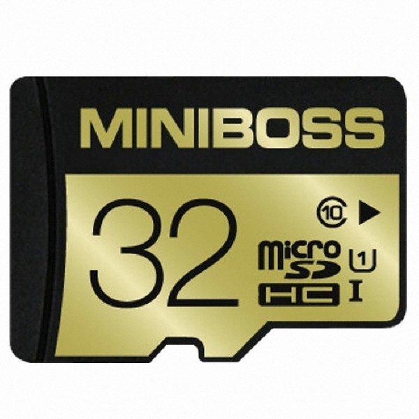 MINIBOSS micro SDHC CLASS10 UHS-I TLC (32GB) 상품이미지