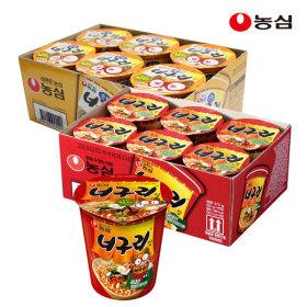 순한너구리컵6개+너구리컵6개 (총12개)