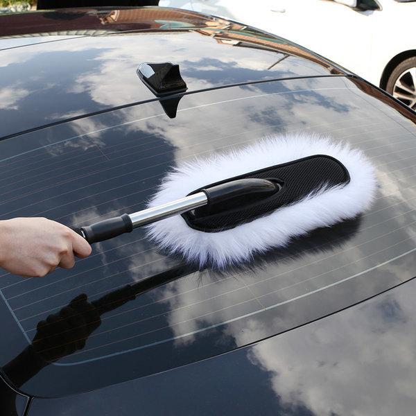 100% 양모 차량용 먼지털이개 미세먼지 황사 먼지떨이 상품이미지