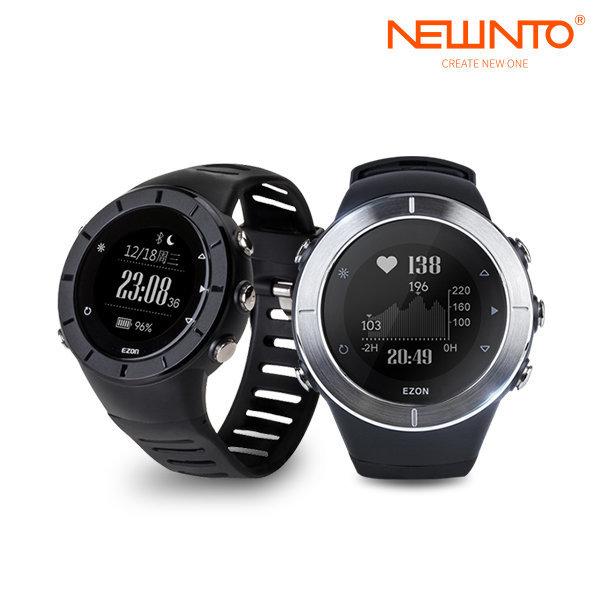 EZON 스포츠워치 T957 심박체크 GPS 태양광반사 상품이미지