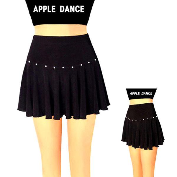 보석 미니 댄스 스커트 에어로빅복 라인 댄스복 치마 상품이미지