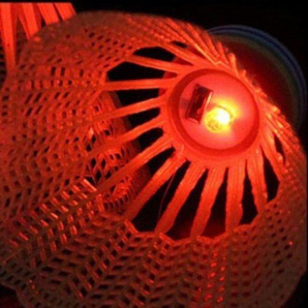 배드민턴 야광 LED 셔틀콕 2개 세트 상품이미지