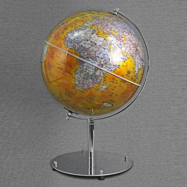50cm 멘토 지구본(골드/레드) 대형지구본 상품이미지