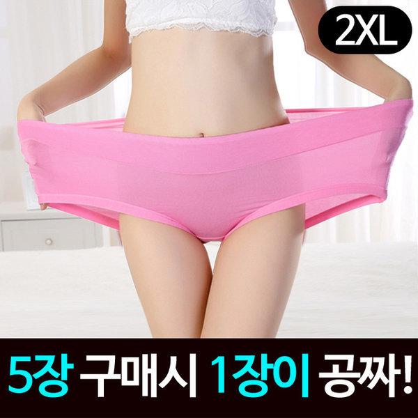2XL /빅사이즈/여성/여자/팬티/속옷/위생/면/임산부 상품이미지