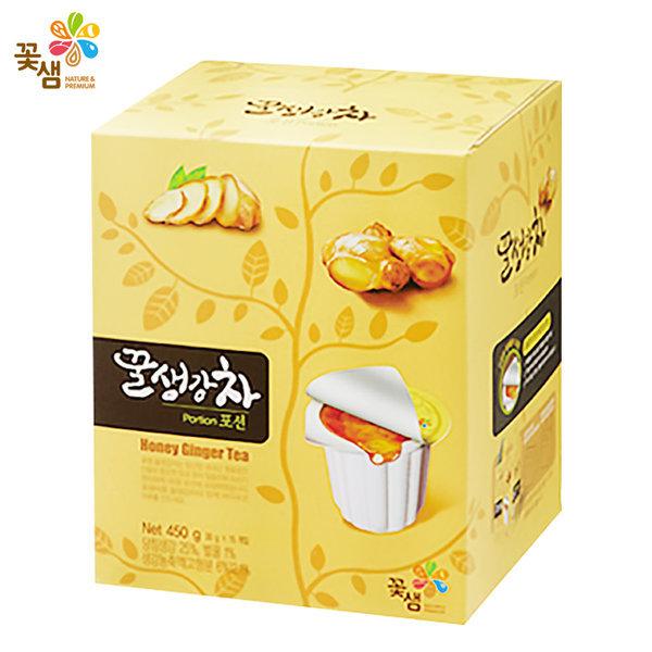 꽃샘 꿀생강차 포션 15개입 (개별포장) 상품이미지